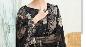 Aayra-Vol-13-By-Cosmos-Fashion-Georgette-With-Embroidery-Work-Pakistani-Suits-Concept-1